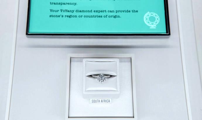 Tiffany lidera la transparencia en la venta de diamantes