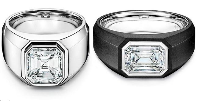 Tiffany&Co lanza por primera vez una línea de anillos de compromiso para hombre