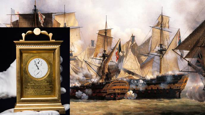 Sothebys subasta el reloj que 'ganó' la batalla de Trafalgar