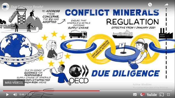 Europa recuerda a España el reglamento contra el oro de conflicto