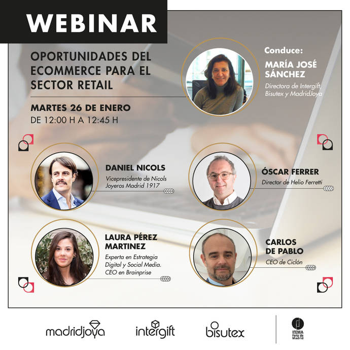 Webinar MadriJoya: Las oportunidades de la venta online