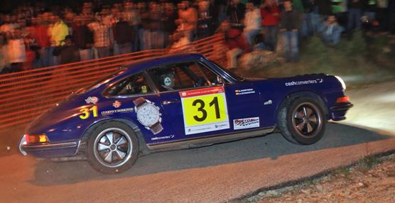 El equipo patrocinado por la relojera Cuervo y Sobrinos acaba tercero en el Rally Histórico de Portugal