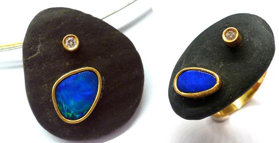 La diseñadora Gemma López devuelve en su última colección la armonía a las gemas y metales con la naturaleza