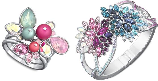 Swarovski lanza nuevas líneas de joyería con cristales de inspiración floral y veraniega