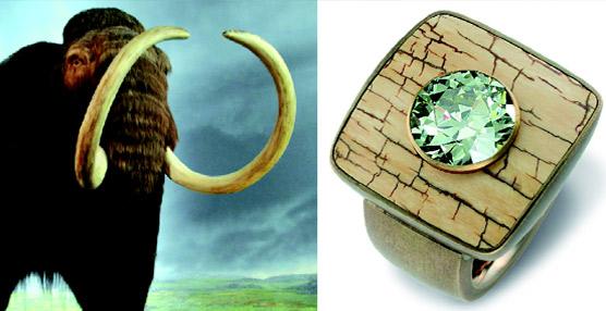 La alternativa ecológica del marfil de mamut: la joyería que viene del frío
