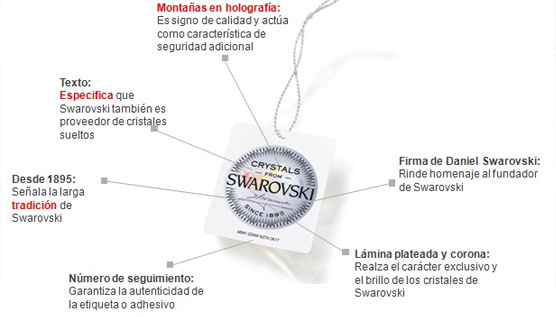 Swarovski crea un sello de autenticidad para poner en valor sus cristales