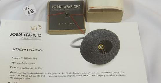 78df740110b2 Jordi Aparicio se hace con el primer premio en el concurso de diseño de  joyería de